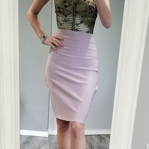 Dresses & Skirts - Bandage bodycon blush pencil skirt